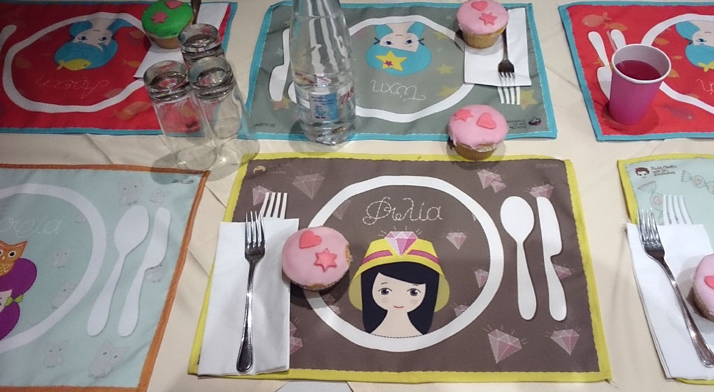 Tablemats for kids