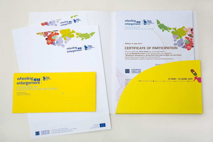 Letterheads and Certificate